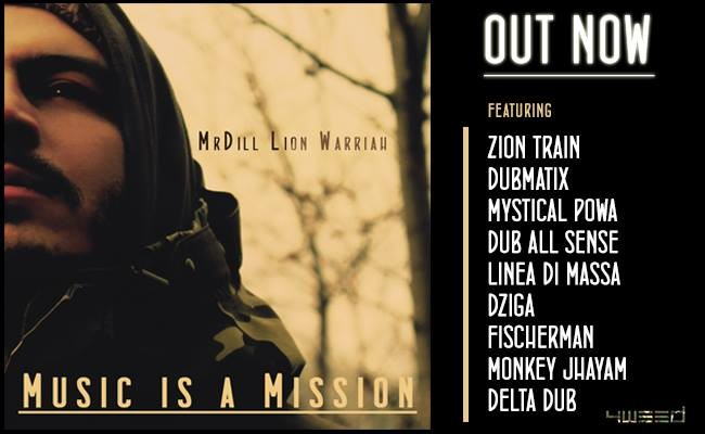 Music is a mission - out now
