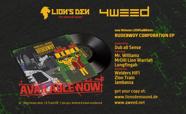 Rudebwoy Corporation - Out Now